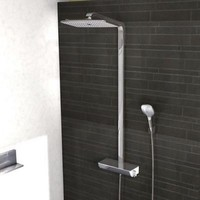 Душевая система Hansgrohe Raindance Select Showerpipe 27112000, хром. Интернет-магазин Vseinet.ru Пенза
