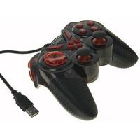 Геймпад GP-A13 Dialog Action, вибрация, 12 кнопок, USB, черно-красный. Интернет-магазин Vseinet.ru Пенза