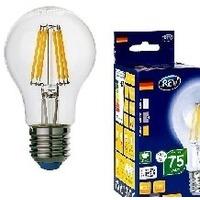 REV (32354 9) LED A60 E27 7W, 4000K, PREMIUM (FILAMENT), холодный свет. Интернет-магазин Vseinet.ru Пенза