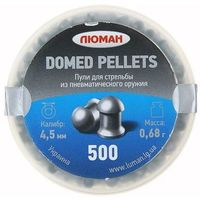 "Пули ""Люман"" Domed pellets, 0,68 г. по 500 шт.. Интернет-магазин Vseinet.ru Пенза"