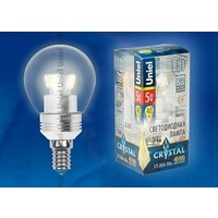 Лампа UNIEL LED-G45P-5W/WW/E14/CL 3000K. Интернет-магазин Vseinet.ru Пенза