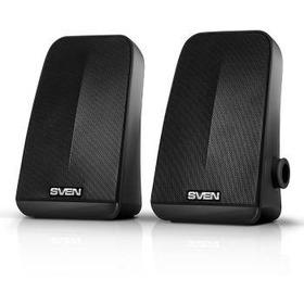 Колонки Sven 380 2.0 черный 6Вт портативные