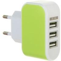Универсальный зарядник 220в 3 USB, 3,1 А МИКС. Интернет-магазин Vseinet.ru Пенза