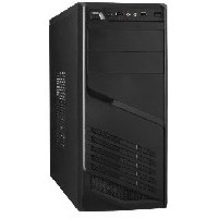 EXEGATE UN-611 (без БП, ATX, 3*SATA, USB, AUDIO) BLACK. Интернет-магазин Vseinet.ru Пенза
