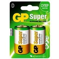 Батарея GP Super Alkaline 13A LR20 D (2шт.уп.). Интернет-магазин Vseinet.ru Пенза