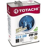 Масло моторное Totachi Premium Economy Diesel Fully Synthetic CJ-4/SM 0W-30, 4 л. Интернет-магазин Vseinet.ru Пенза