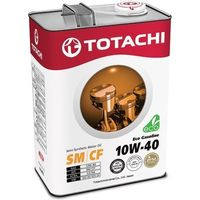 Масло моторное Totachi Eco Gasoline Semi-Synthetic SM/CF 10W-40, 4 л. Интернет-магазин Vseinet.ru Пенза