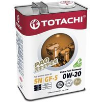 Масло моторное Totachi Extra Fuel Fully Synthetic SN 0W-20, 4 л. Интернет-магазин Vseinet.ru Пенза