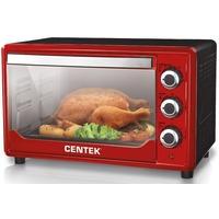 Электрическая печь CENTEK CT-1530-36 RED 1600 Вт, 36 литров,таймер,красная. Интернет-магазин Vseinet.ru Пенза