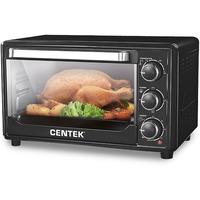 Электрическая печь CENTEK CT-1537-30 black 1600 Вт, 30 литров,таймер. Интернет-магазин Vseinet.ru Пенза