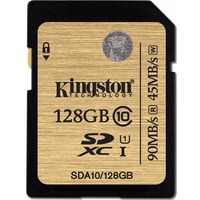 Карта Памяти 128Gb Kingston Ultimate SDXC Class 10 UHS-I (90/45 MB/s). Интернет-магазин Vseinet.ru Пенза