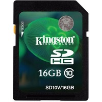 Карта Памяти 16Gb Kingston SDHC Class 10 UHS-I. Интернет-магазин Vseinet.ru Пенза