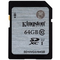 Карта Памяти 64Gb Kingston SDXC Class 10 UHS-I (45/10 Mb/s). Интернет-магазин Vseinet.ru Пенза