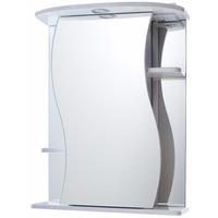 Шкаф зеркальный Лилия -75 белый, правый г. Пенза. Интернет-магазин Vseinet.ru Пенза