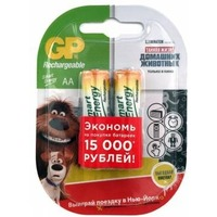 Аккумулятор GP Smart Energy 100AAHCSV AA NiMH 1000mAh (2шт.уп.). Интернет-магазин Vseinet.ru Пенза