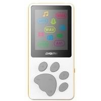 """Плеер Flash Digma S3 4Gb белый/оранжевый/1.8""""/FM/microSD. Интернет-магазин Vseinet.ru Пенза"""