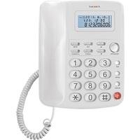 Проводной телефон Texet TX-250 белый. Интернет-магазин Vseinet.ru Пенза