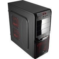 Корпус Aerocool V3X Advance Devil Red Edition, ATX, 600Вт (VX-600), USB 3.0 , коннекторы 2x PCI-E (6+2-Pin), 4x SATA, 3x MOLEX, 1x 4+4-Pin. Интернет-магазин Vseinet.ru Пенза