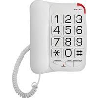 Проводной телефон Texet TX-201 белый. Интернет-магазин Vseinet.ru Пенза