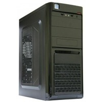 Корпус Trin ATX U3103 BK-SR-BK, SP-400A8 400Вт Б/П, 2+1ODD, 1FDD, 3HDD, 1SSD, 2USB 2.0, HD Audio. Интернет-магазин Vseinet.ru Пенза