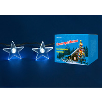 Гирлянда светодиодная ULD-S0280-020/DTA WHITE IP20 STARS (20 светодиодов, 2,8м, белый). Интернет-магазин Vseinet.ru Пенза