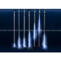 Занавес светодиодный ULD-Е2403-144/DTK BLUE IP44 METEOR (144 светодиодов, 2,4х0,3м, синий). Интернет-магазин Vseinet.ru Пенза