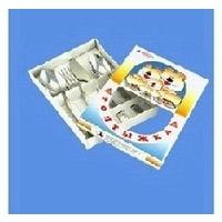 АША 1с31 наб. столовых приборов детский Топтыжка 4пр.. Интернет-магазин Vseinet.ru Пенза