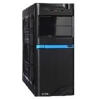 EXEGATE XP-316 (черное шасси и БП XP450, 120MM,ATX, 3*SATA,USB, AUDIO) BLACK. Интернет-магазин Vseinet.ru Пенза