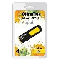 OLTRAMAX OM-4GB-250-желтый. Интернет-магазин Vseinet.ru Пенза