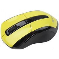 Мышь Intro MW207 Wireless Black/Yellow. Интернет-магазин Vseinet.ru Пенза