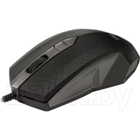 Мышь проводная Ritmix ROM-202, USB, черная с серым. Интернет-магазин Vseinet.ru Пенза