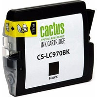 Картридж струйный Cactus CS-LC970BK черный для Brother DCP-135C/150C/MFC-235C/260C (22.6мл). Интернет-магазин Vseinet.ru Пенза