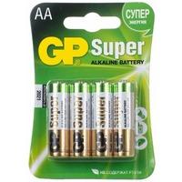Элемент питания GP Super Alkaline 15A-2CR4 AA бл 4. Интернет-магазин Vseinet.ru Пенза