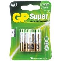 Элемент питания GP Super Alkaline 24A-2CR4 AAA бл 4. Интернет-магазин Vseinet.ru Пенза