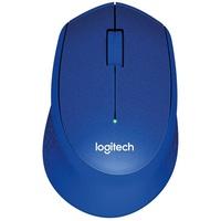 Мышь Logitech M330 Silent Plus беспроводная, USB, синяя. Интернет-магазин Vseinet.ru Пенза