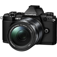 OM-D E-M5 Mark II Kit (E-M5 Mark II Body silver + EZ-M1415 II black ). Интернет-магазин Vseinet.ru Пенза