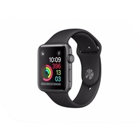 APPLE Watch 38mm Space Grey Aluminium Case with Black Sport Band MP022RU/A. Интернет-магазин Vseinet.ru Пенза