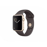 APPLE Watch 42mm Gold Aluminium Case with Cocoa Sport Band MNNN2RU/A. Интернет-магазин Vseinet.ru Пенза