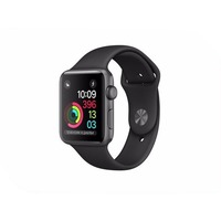 APPLE Watch Series 2 38mm Space Grey Aluminium Case with Black Sport Band MP0D2RU/A. Интернет-магазин Vseinet.ru Пенза