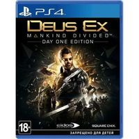 PS4:  DEUS EX: MANKIND DIVIDED. Day one edition.. Интернет-магазин Vseinet.ru Пенза