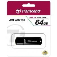 Флешка Transcend JetFlash JetFlash 350 64Гб,  USB 2.0, черный (TS64GJF350). Интернет-магазин Vseinet.ru Пенза