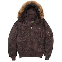 Куртка Deflector Flight Jacket Alpha Industries deep brown 2XL. Интернет-магазин Vseinet.ru Пенза