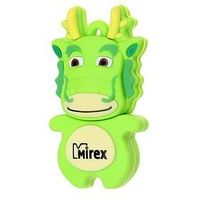 Флешка Mirex DIGITAL KIDS DRAGON 8Гб,  USB 2.0, зеленая. Интернет-магазин Vseinet.ru Пенза