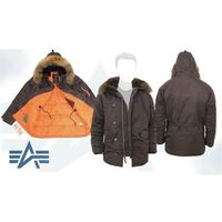 "Куртка утеплённая ""Slim Fit N-3B Parka"" (натур. мех) Alpha Industries АКЦИЯ!! Cocoa. Интернет-магазин Vseinet.ru Пенза"