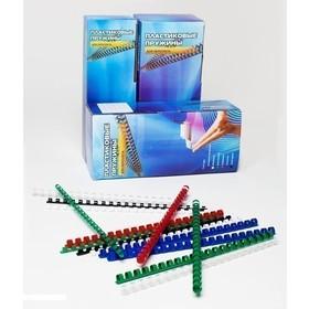 Фото Пластиковые пружины для переплета 8 мм (на 31 - 50 листов) белые 100шт Office Kit (BP2011). Интернет-магазин Vseinet.ru Пенза