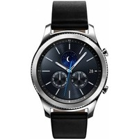 "Смарт-часы Samsung Galaxy Gear S3 classic SM-R770 1.3"" Super AMOLED серебристый (SM-R770NZSASER). Интернет-магазин Vseinet.ru Пенза"