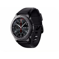 "Смарт-часы Samsung Galaxy Gear S3 Frontier SM-R760 1.3"" Super AMOLED темно-серый (SM-R760NDAASER). Интернет-магазин Vseinet.ru Пенза"