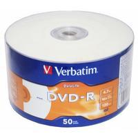 Диск DVD-R Verbatim 4.7Gb 16x bulk (50шт) Printable (43793). Интернет-магазин Vseinet.ru Пенза