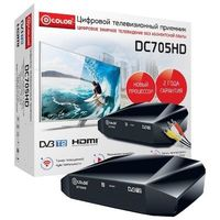 Цифровой эфирный тюнер D-Color DC705HD. Интернет-магазин Vseinet.ru Пенза