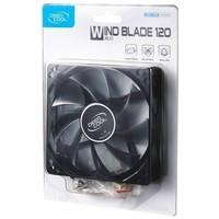 Вентилятор для корпуса DeepCool WIND BLADE 120 120X120X25mm Hydro 1300RPM Blue LED. Интернет-магазин Vseinet.ru Пенза